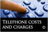 Telephone costs and charges